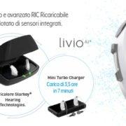 Tecnologia avanzata per Livio AI Starkey
